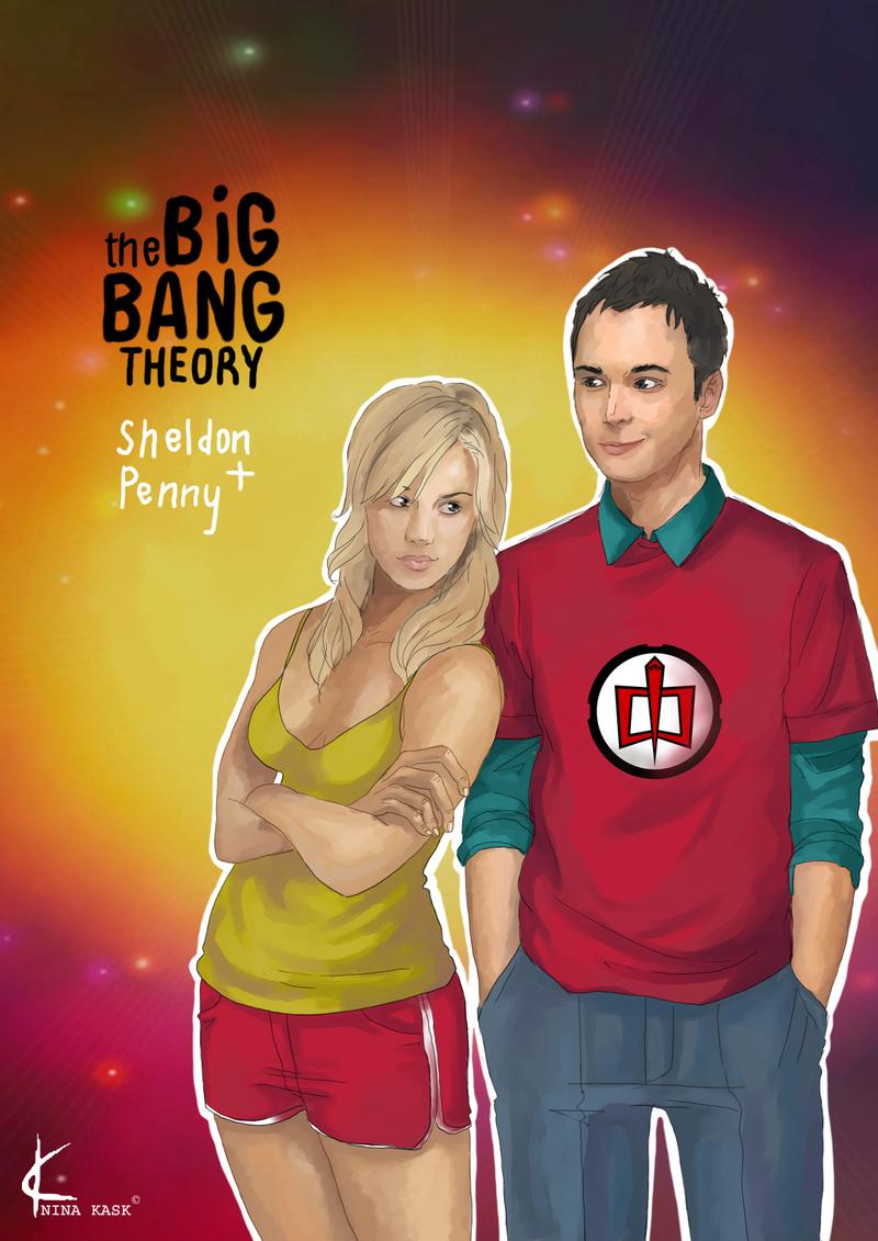 TBBT Fanart: Sheldon + Penny Artwork by Shin-ichi | Big Bang Theory ...