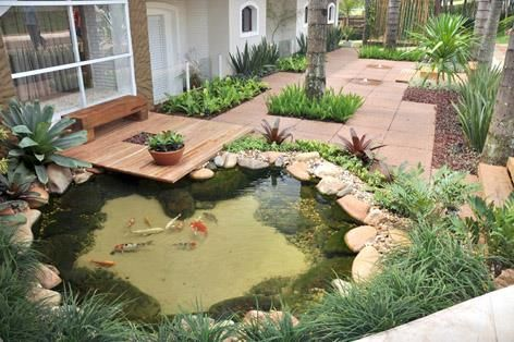 Lago Artificial Jardín y Exteriores Pinterest Estanques, Lagos - estanques artificiales