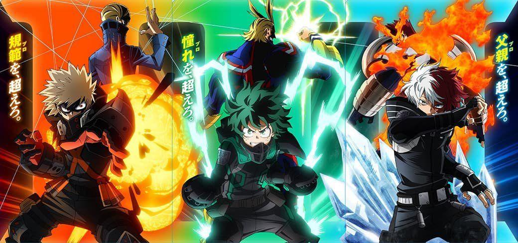 Myheroacademia The Movie World Heroes Mission In 2021 Hero World Anime Films Anime