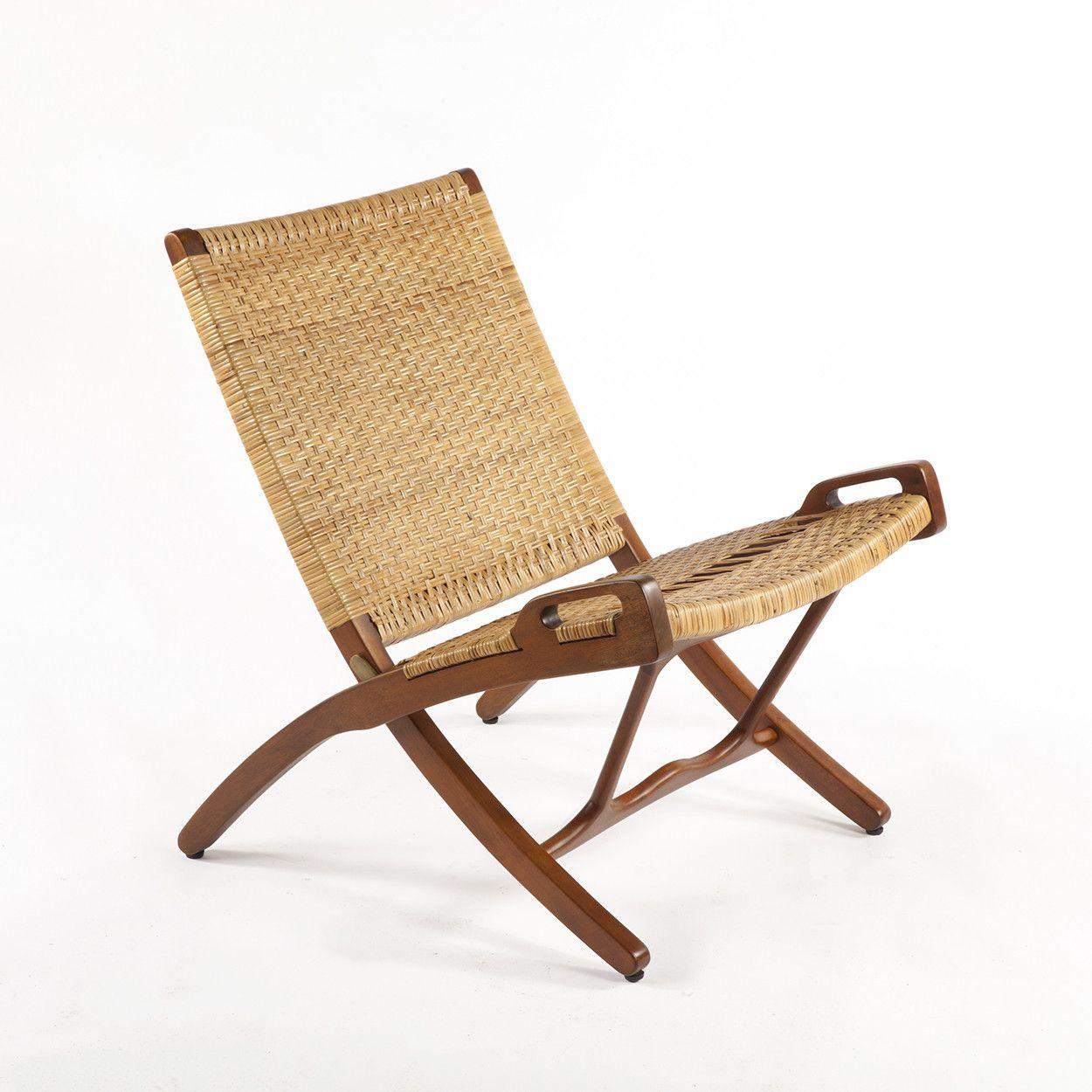 Hans J Wegner 1914 2007 Folding Chair Model Jh 512