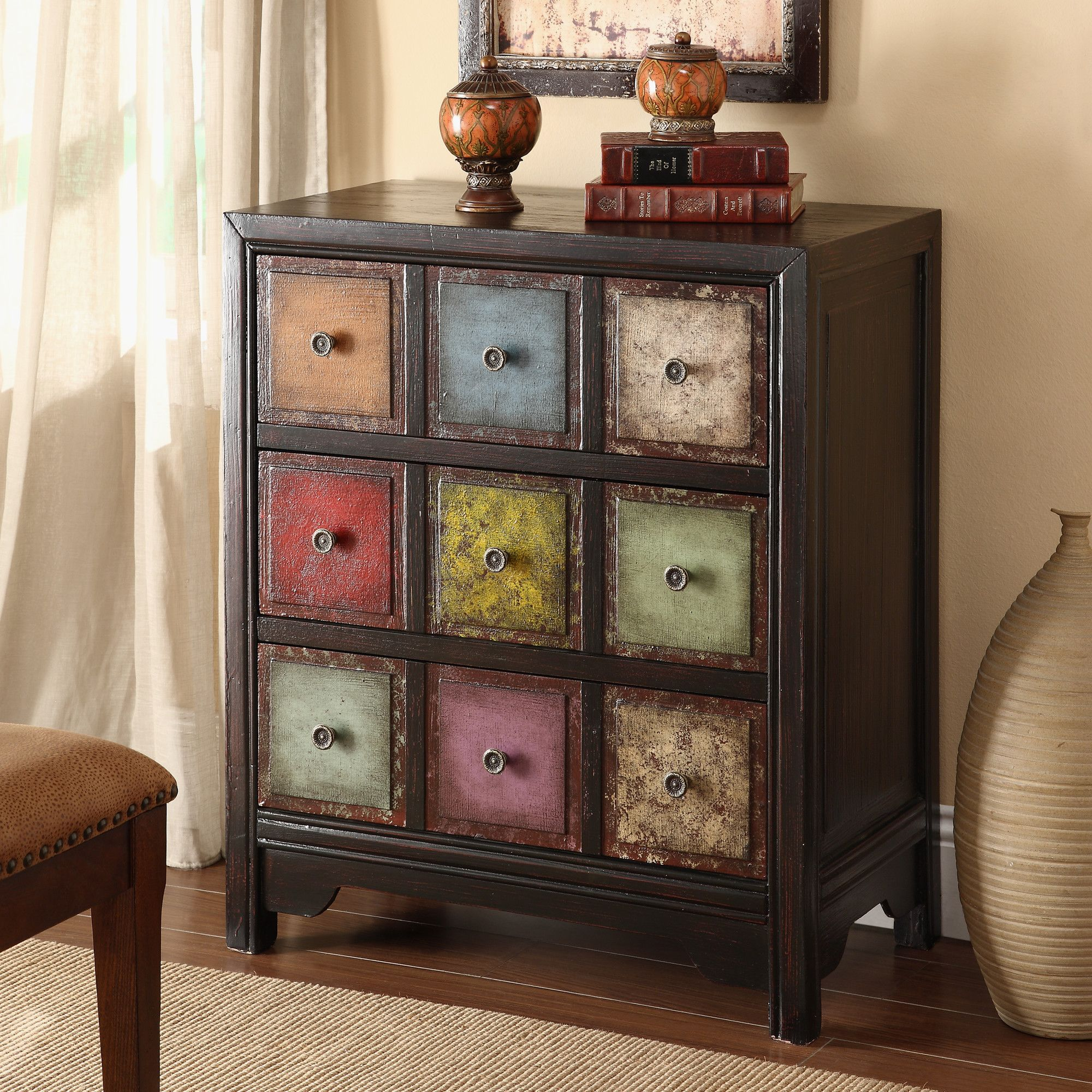 Coast To Coast Imports 3 Drawer Chest 420 Painted Furniture Funky Furniture Redo Furniture