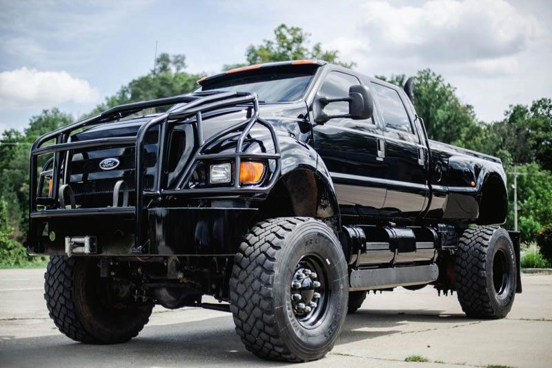 2005 FORD F650 EXTREME SUPERTRUCK CAT DIESEL 300HP  http