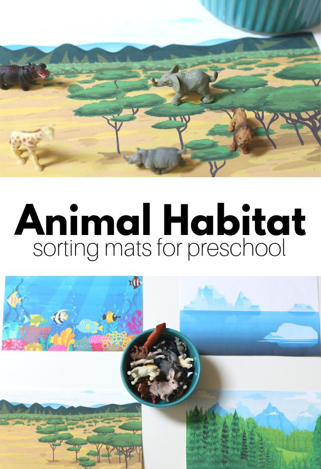 Animal Habitats Preschool Science Activity Animal Habitats Preschool Animal Habitats Animal Science Activities