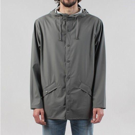 Rains Grey Jacket - Grey