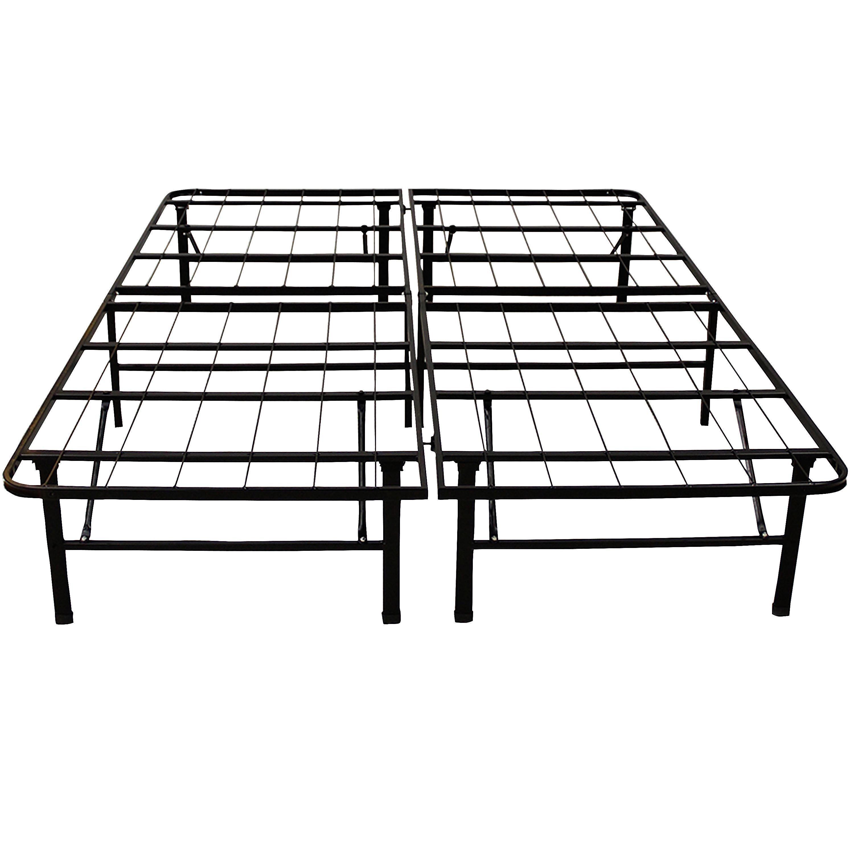 Hercules Platform Heavy Duty Metal Bed Frame/Mattress
