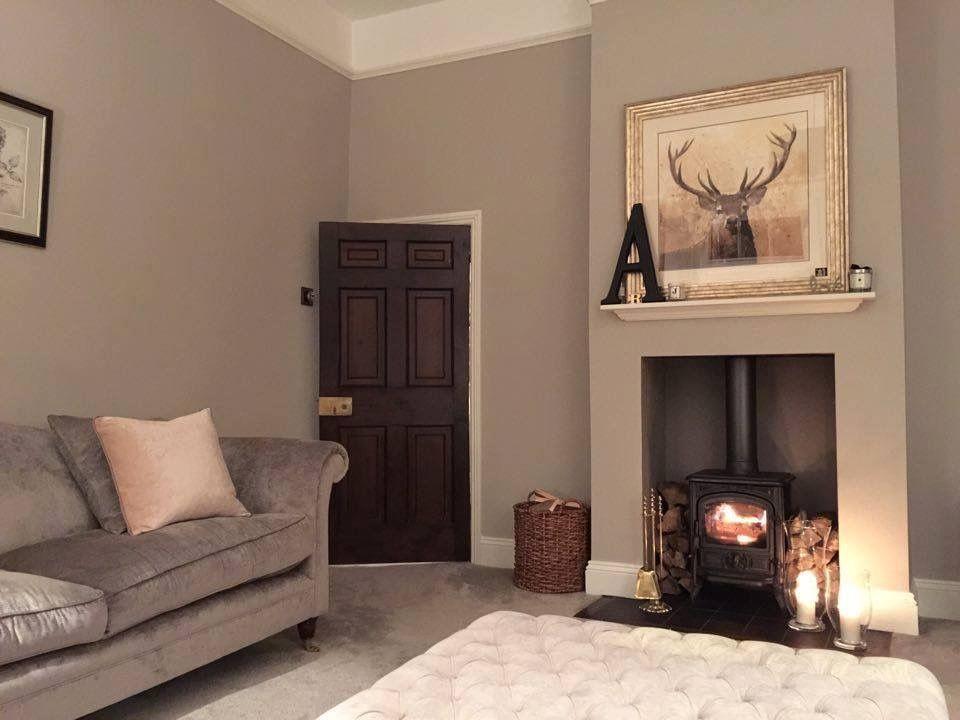 Farrow And Ball Elephants Breath Victorian Living Room Cosy