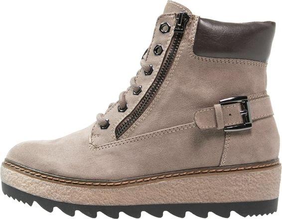 Tamaris Botki Sznurowane Pepper Graphit High Top Sneakers Top Sneakers Sneakers