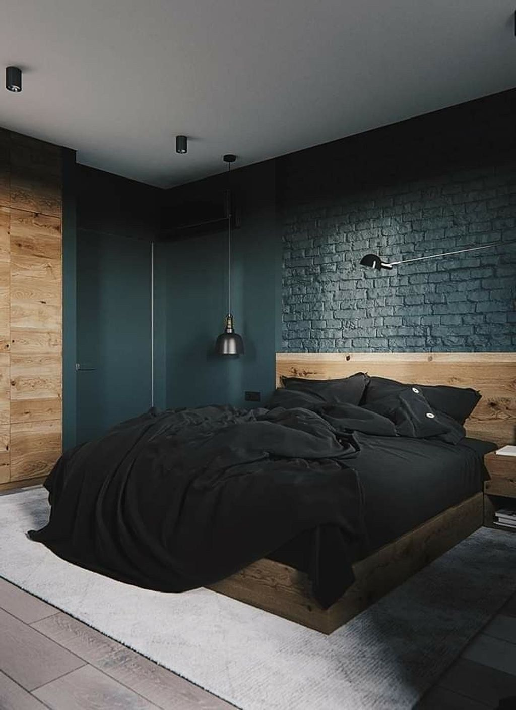 Awesome 20 Modern Style For Industrial Bedroom Design Ideas