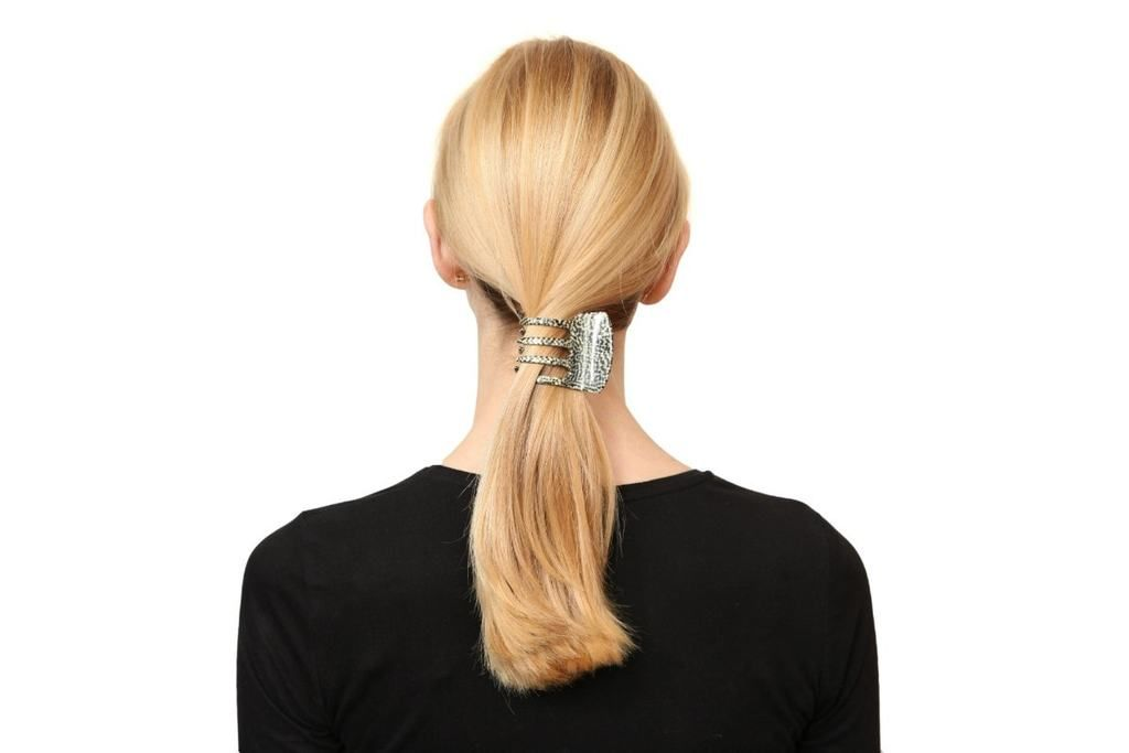 Large Square Hair Claw Thick Hair Styles French Hair Long Hair Styles