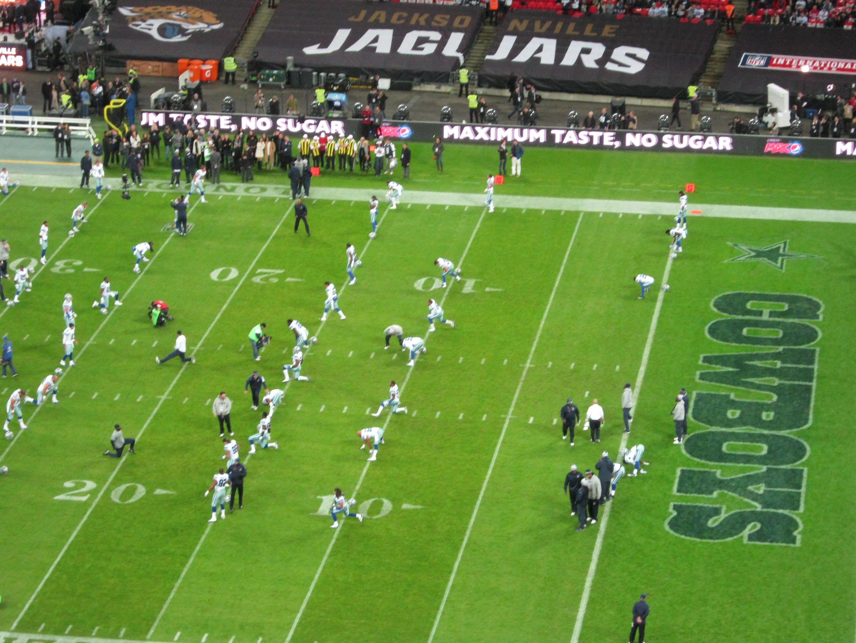Dallas Versus The Jaguars Wembley London November 2014