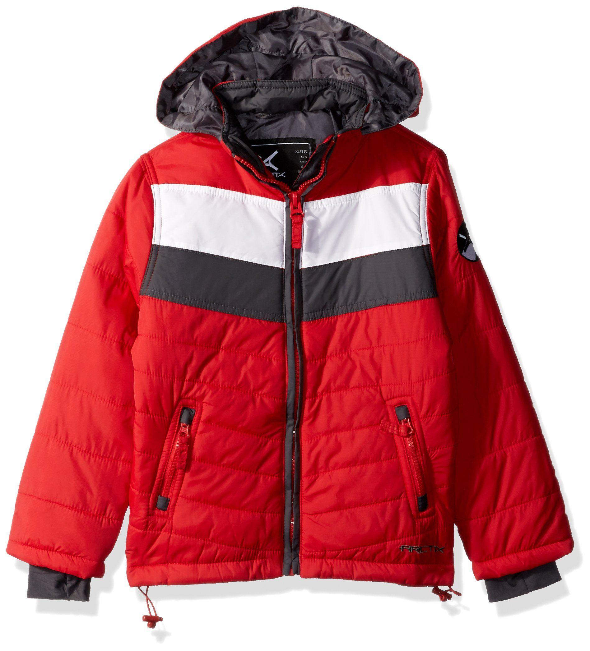 Arctix Boys Steep Insulated Puffer Jacket Xsmall Formula One Red Click Image For More Details It Is Amazon Affiliate Boy S Clothing Puffer Jackets Jackets [ 2094 x 1897 Pixel ]