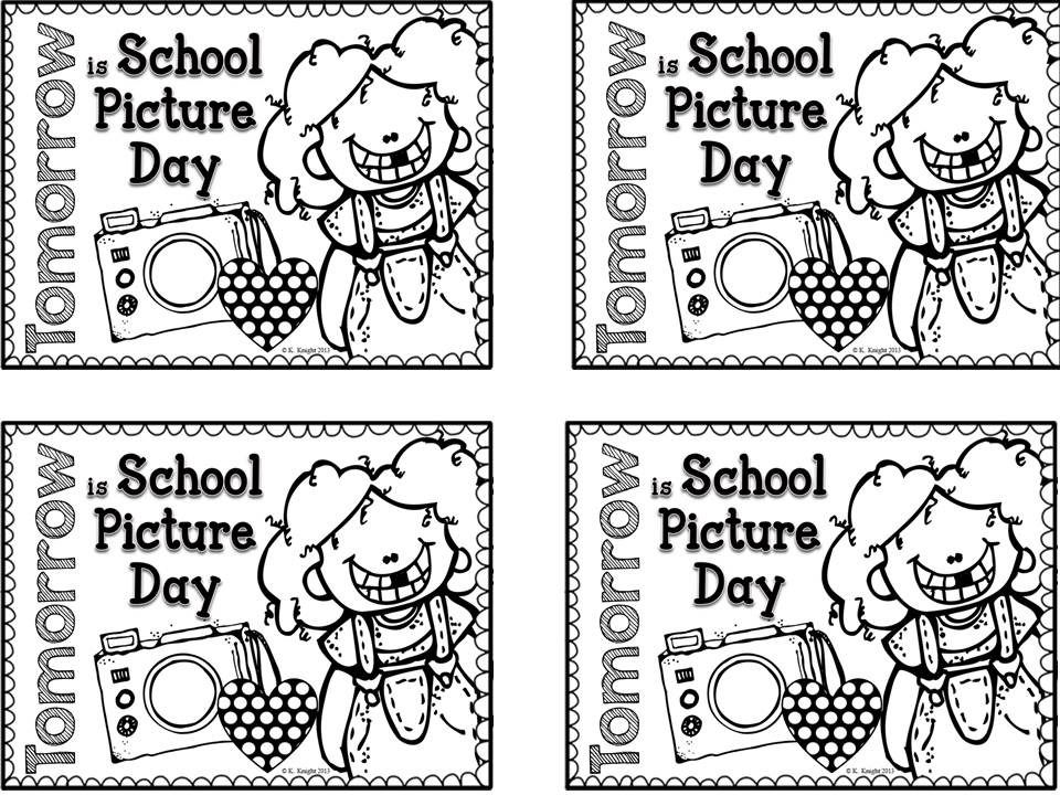 13++ Picture day reminder clipart info