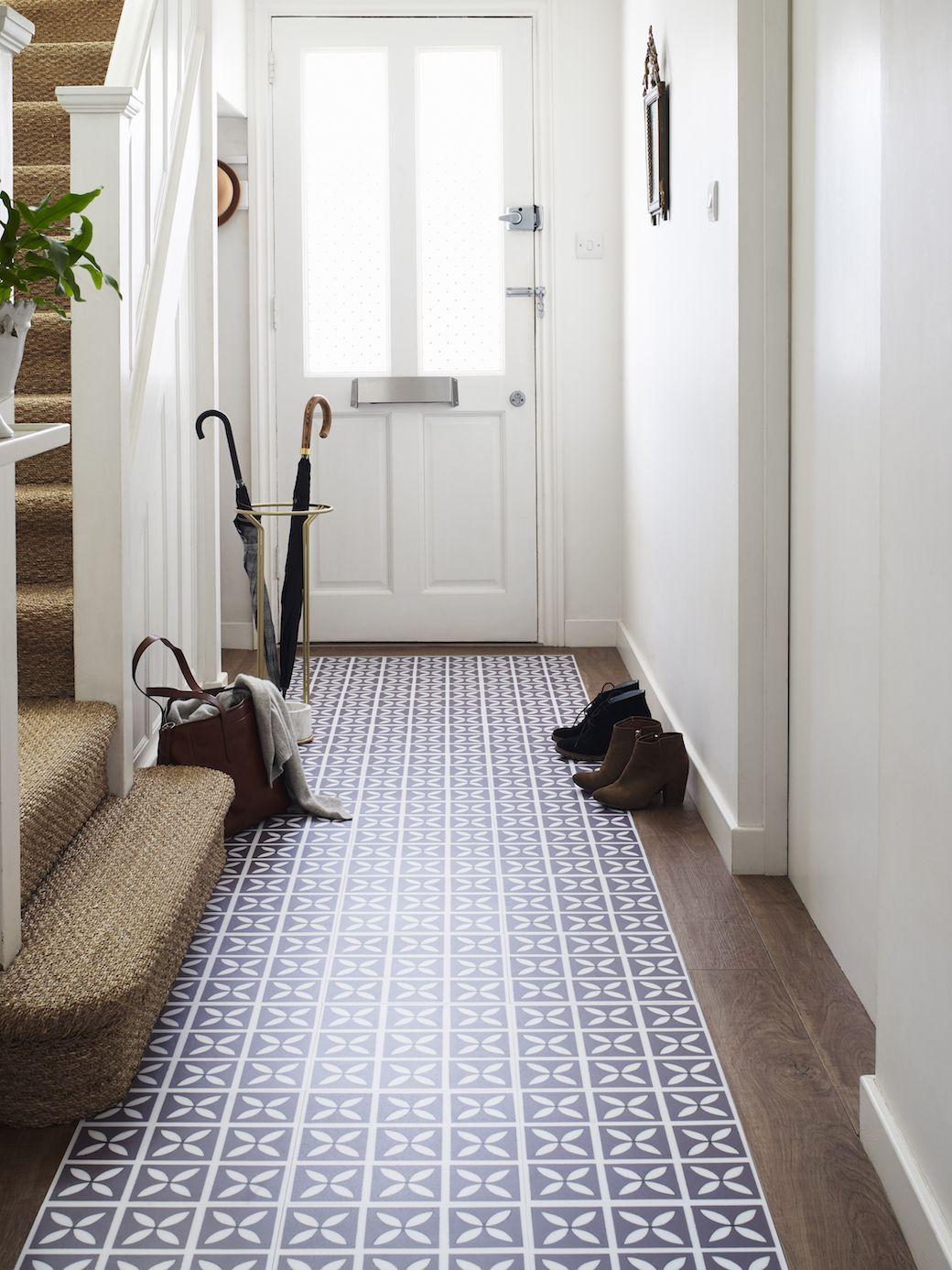 Harvey maria lattice flooring from the dee hardwicke for Tiled hallway floor ideas