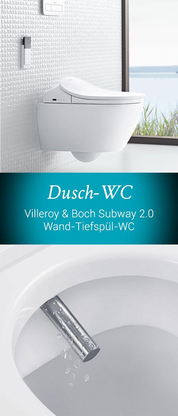 Villeroy & Boch Subway 2.0: Das Dusch-WCs wird Sie durch ...