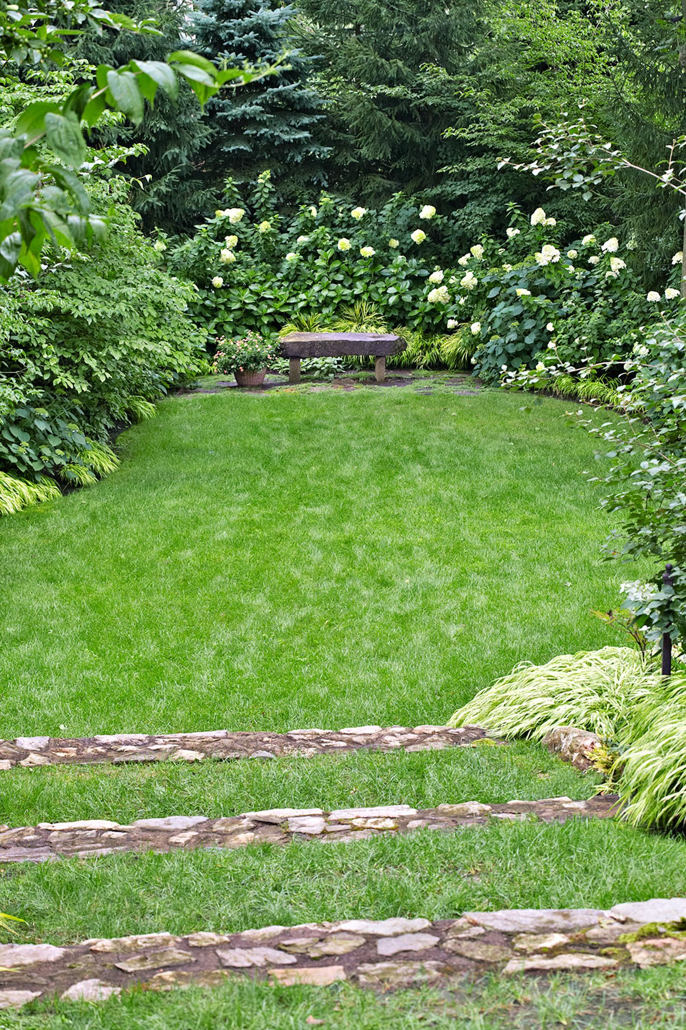 A Steeply Sloped Yard Becomes A Hillside Oasis Sloped Yard Lawn And Landscape Hillside Landscaping Backyard oasis ideas this old house