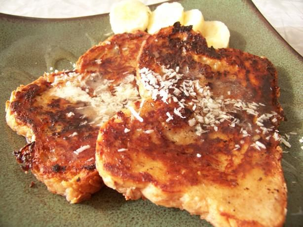 Vegan French Toast With Coconut Milk & Banana. Photo by Prose