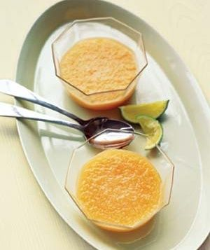 Chilled Cantaloupe Soup snack-side-other-food