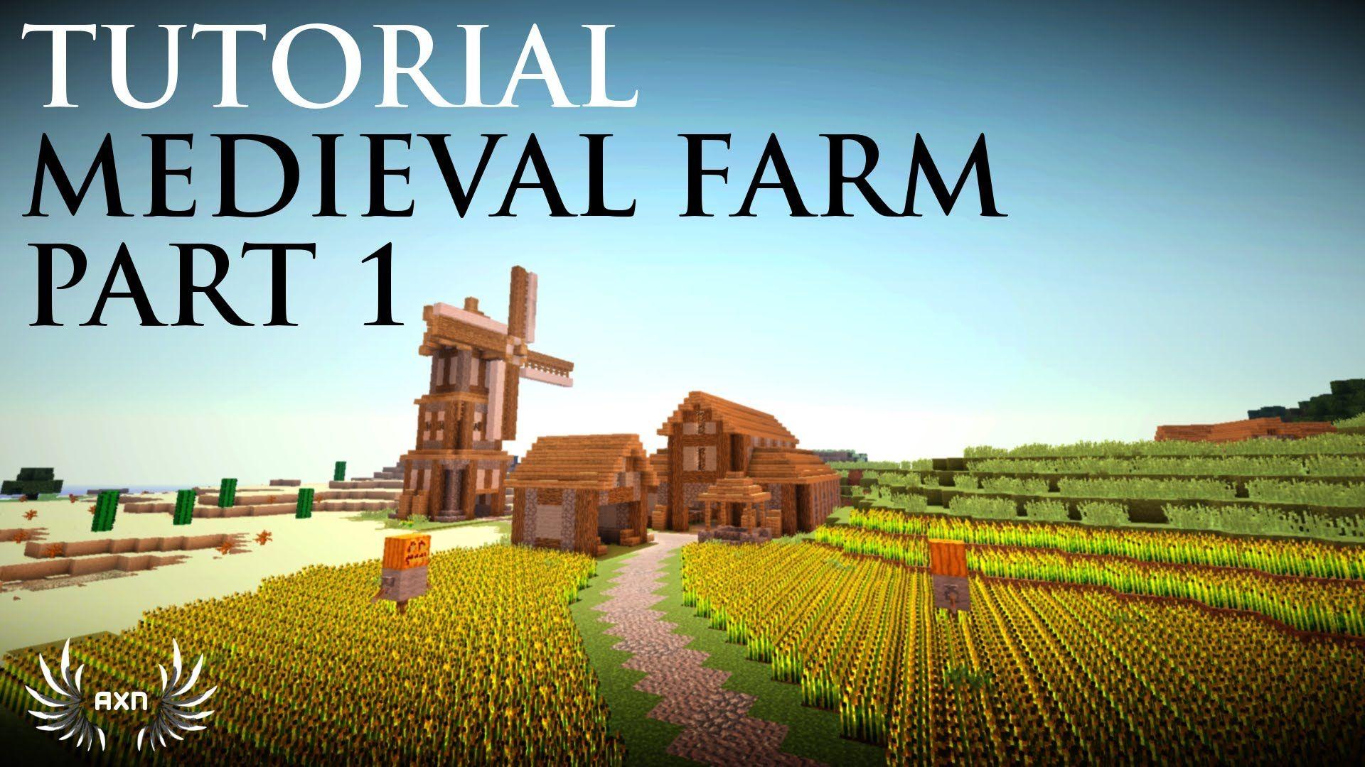 Minecraft Tutorials - Medieval Farm (Part 17/17)  Minecraft