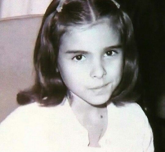 Kate del Castillo childhood picture