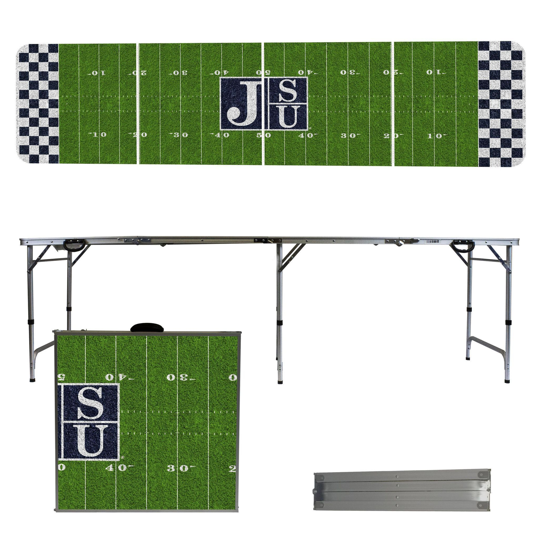Jackson State Tigers 8 Foot Portable Tailgate and Pong Table