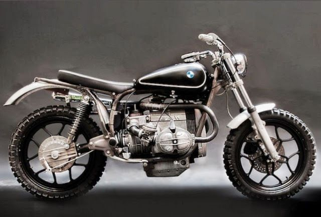 RocketGarage Cafe Racer: BMW R65 LS Adventure