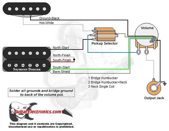 Diagram  Wiring Diagrams 3 Way Switch 1 Guitar Free Full
