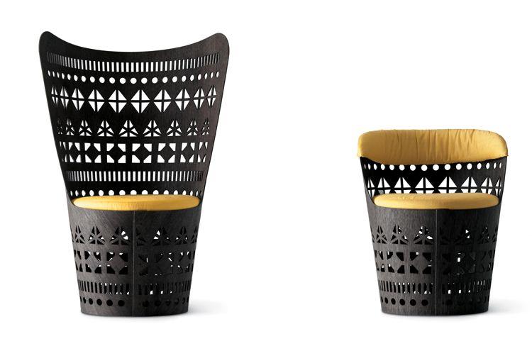Emmemobili 'Dogon' chairs by Ferruccio Laviani * Deco Findings * The Inner Interiorista