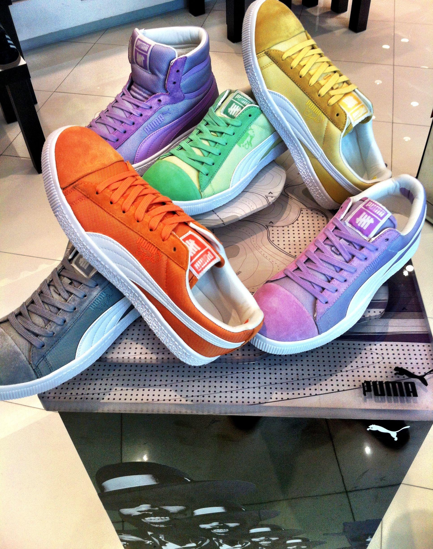 43c845ca148 Puma Clyde x UNDFTD Ballistic CB  PUMA  Clyde  UNDFTD  sneakers  classic   shoes  bright
