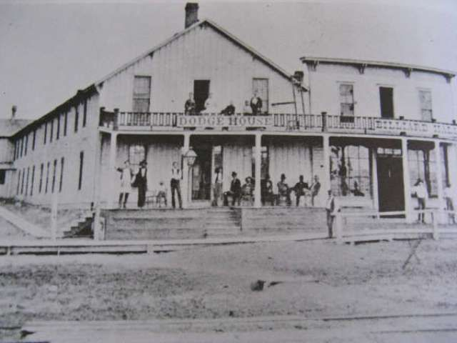 History Of Dodge City Kansas And The House Hotel