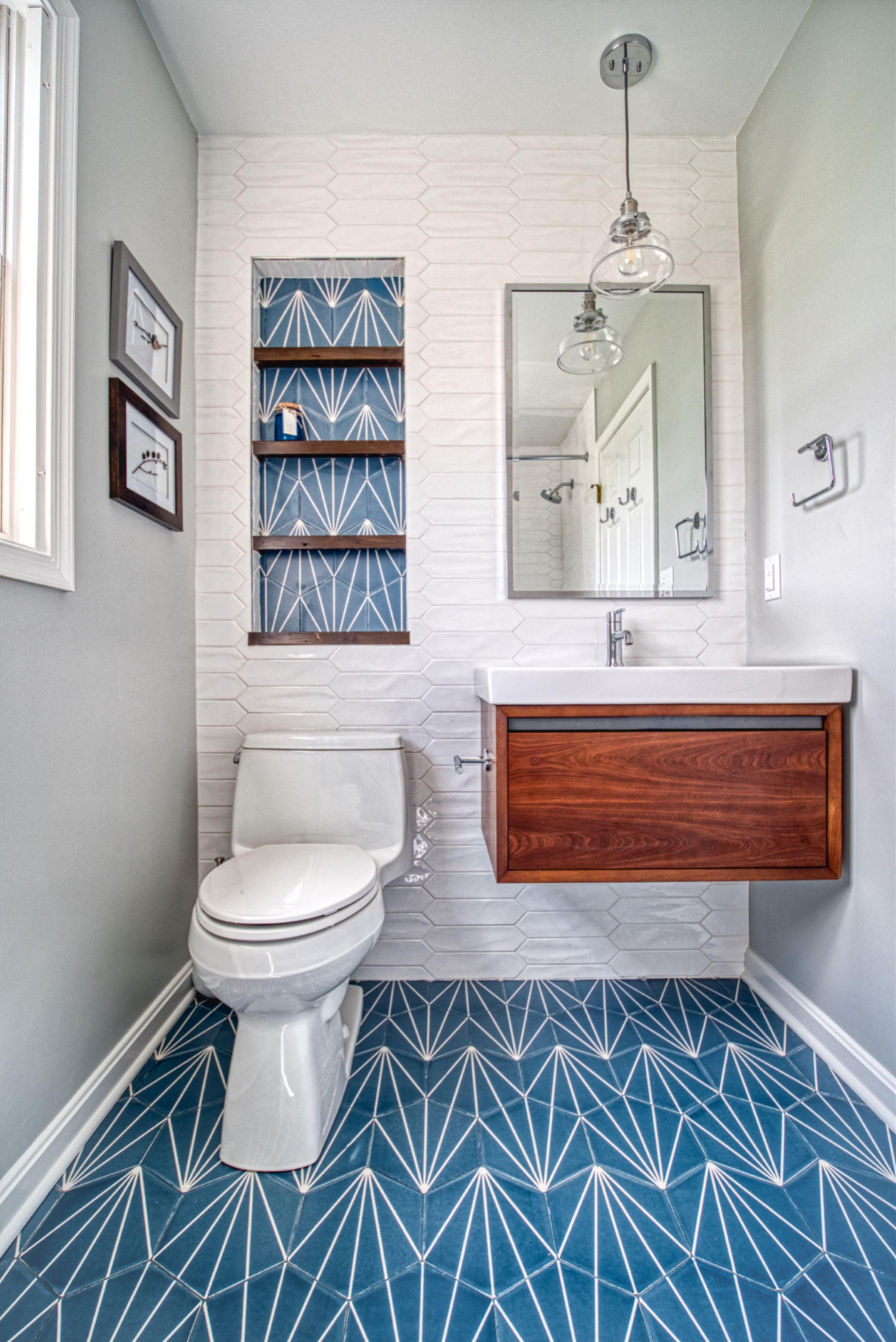 Bold Bathroom Tile