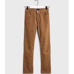 Photo of Gant Slim Fit Cord Jeans (grün) GantGant