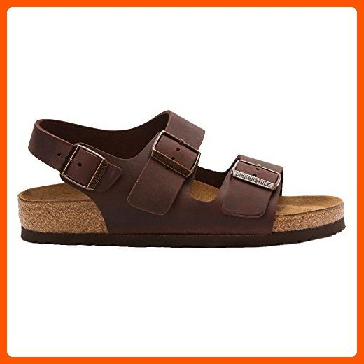 Birkenstock Milano Dark Brown Mens Sandals Size 41 EU - Mens world ( Amazon  Partner-Link) af0e0dcbdaa