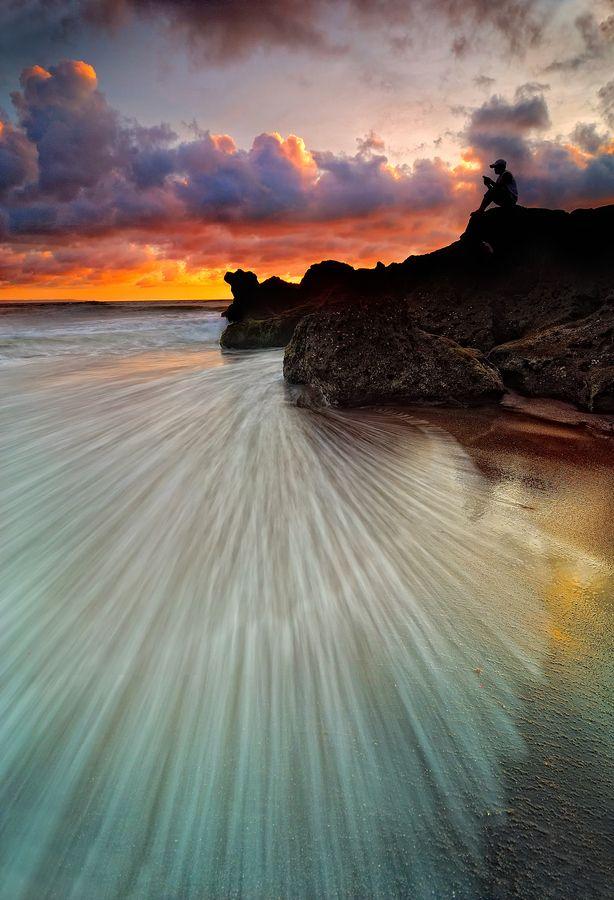 Dusk in Bali