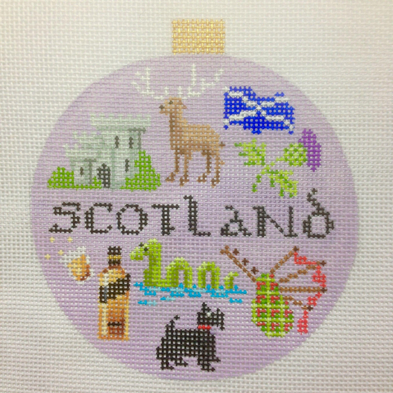 Needlepoint Travel Round - Scotland