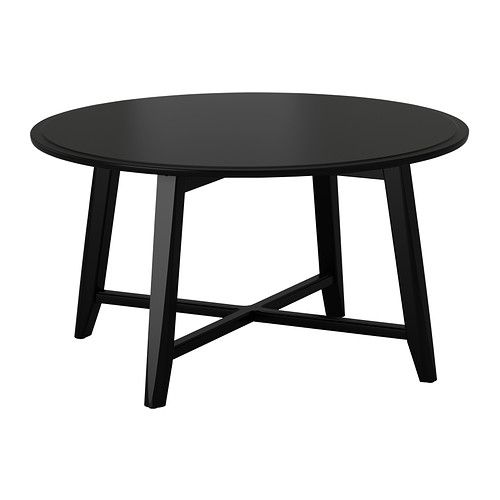 Kragsta Table Basse Noir Architecture Et Design