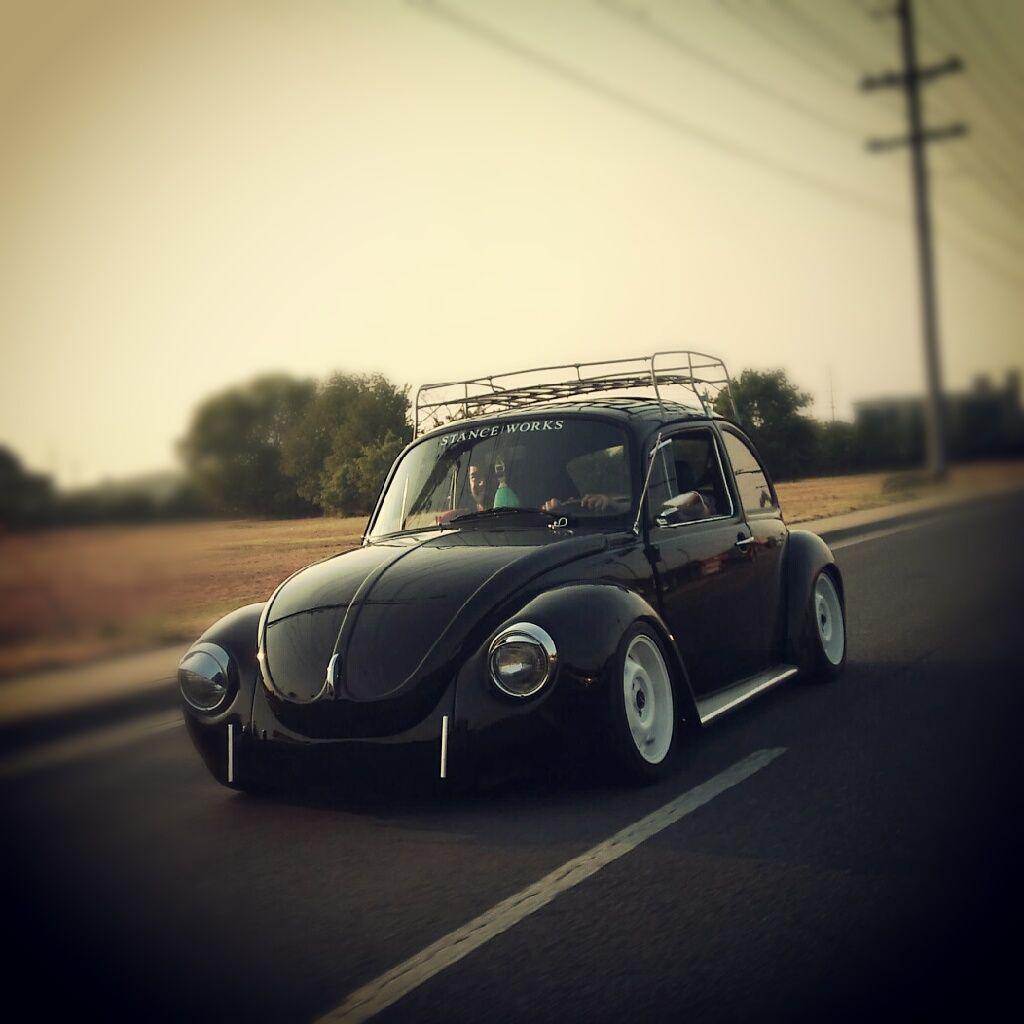 Tiny house bugs car pictures car tuning - Black Cal Look Slammed Carscustom