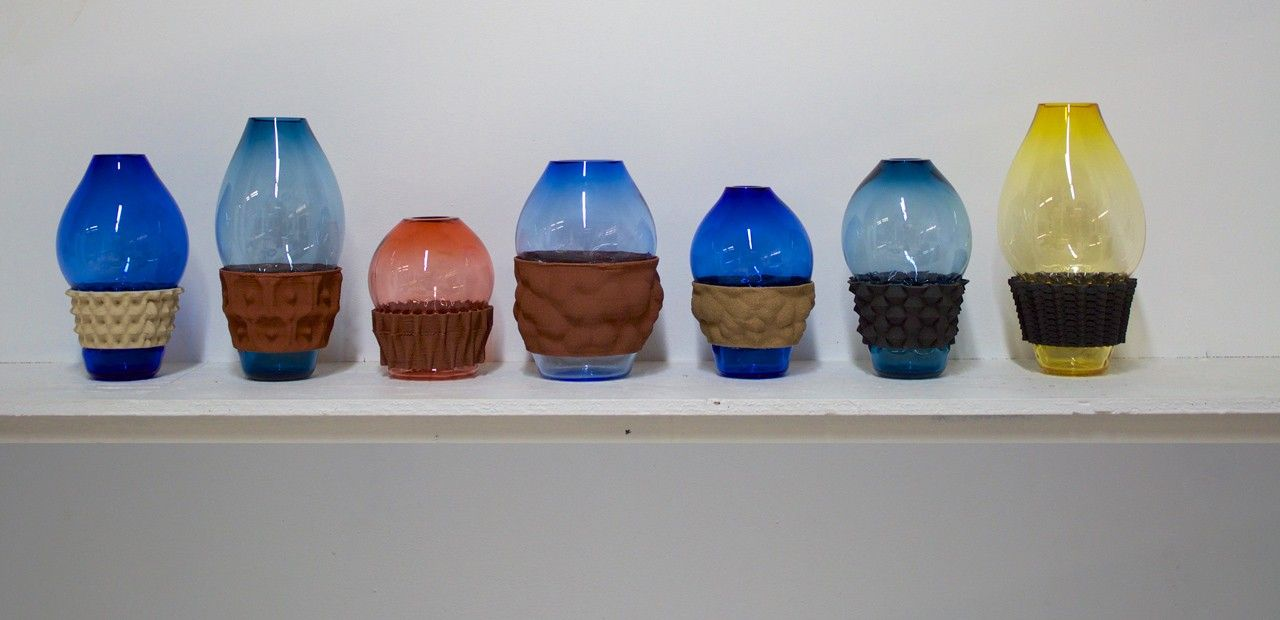 Applying 3D printing to the problem of ceramic and glass compatibility, a group of designers created an iterative process that allows rapid testing of materials and form.
