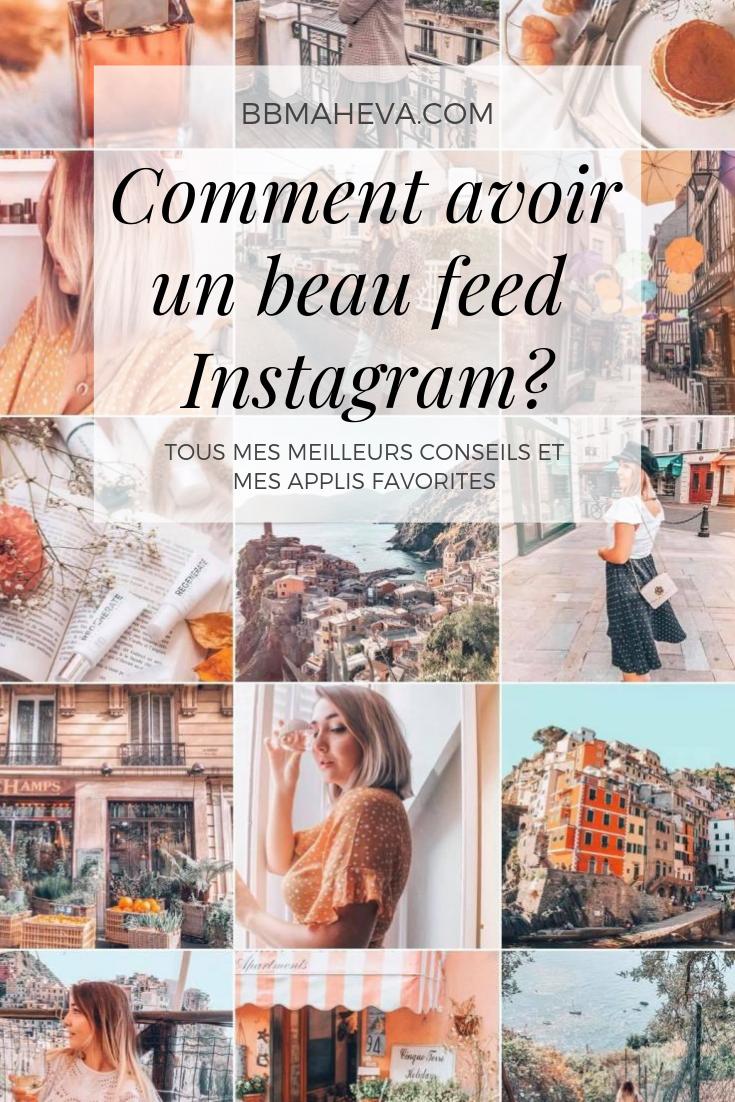 Mes meilleurs conseils pour avoir un beau feed Instagram ! - bbmaheva
