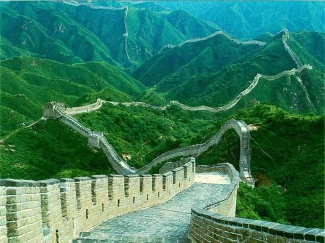 Great Wall of China!