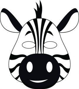 Zebra Craft Idea For Preschool Preschool And Kindergarten Boyama Sayfalari Hayvanlar Ve Hayvan
