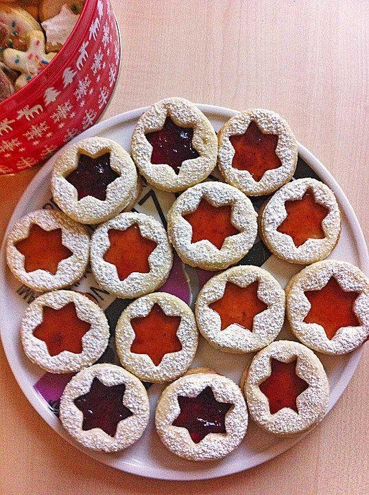 Spitzbuben Cookies Traditional German Christmas Cookies