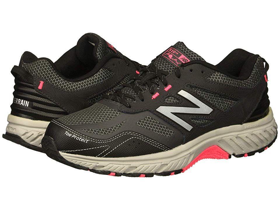 e3b33a04c58ff8 New Balance 510v4 (Black Phantom Pink Zing) Women s Running Shoes. Going