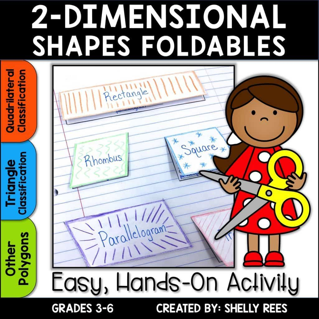Classifying Polygons With Math Foldables