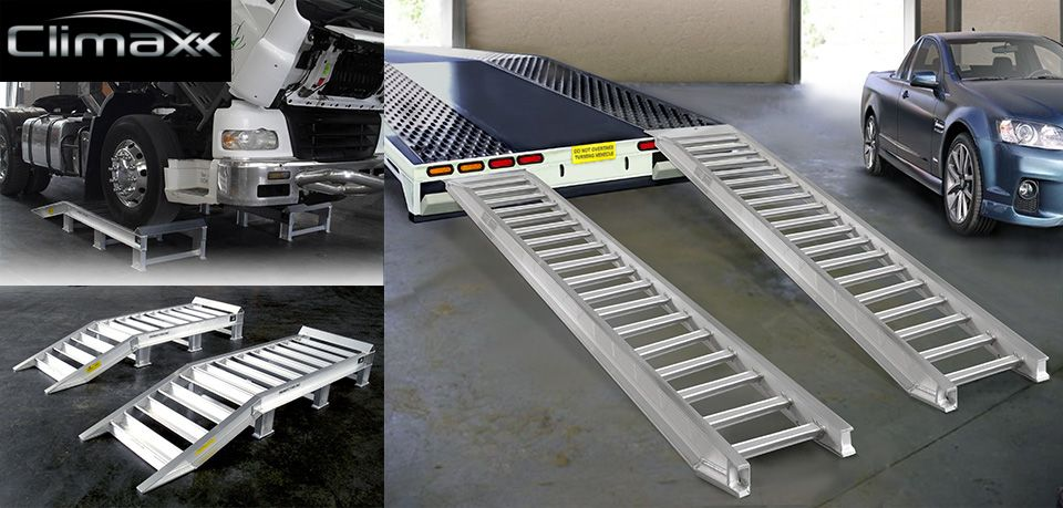 These trailer ramps seem like they would come in handy. I