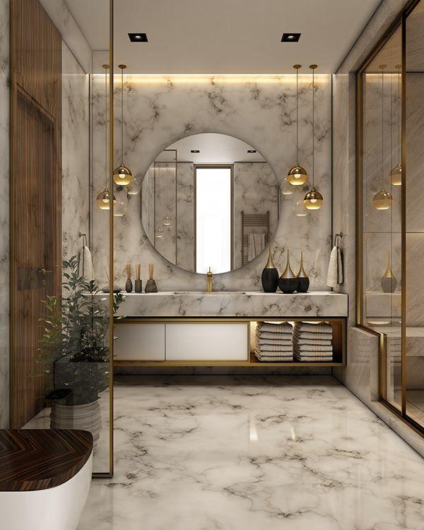 Interior Design Bathroom Colors: Luxurious Bathroom On Behance