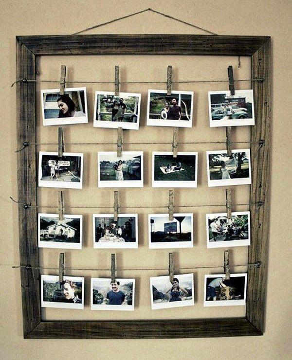 Decorating With Family Photographs Stylish Photo Frames Diy Photo Home Diy