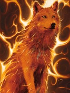 Fire Wolf Oh Hell Yessss Pinterest Wolf Wolf Pictures And