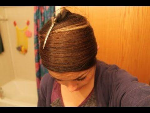 how to keep straightened hair straight overnight