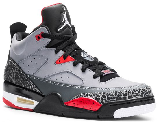 quality design e4efe 494b9 Jordan Son Of Mars 2014   Jordan Son Of Mars Low Cement Grey Black-Fire Red- White August 2013
