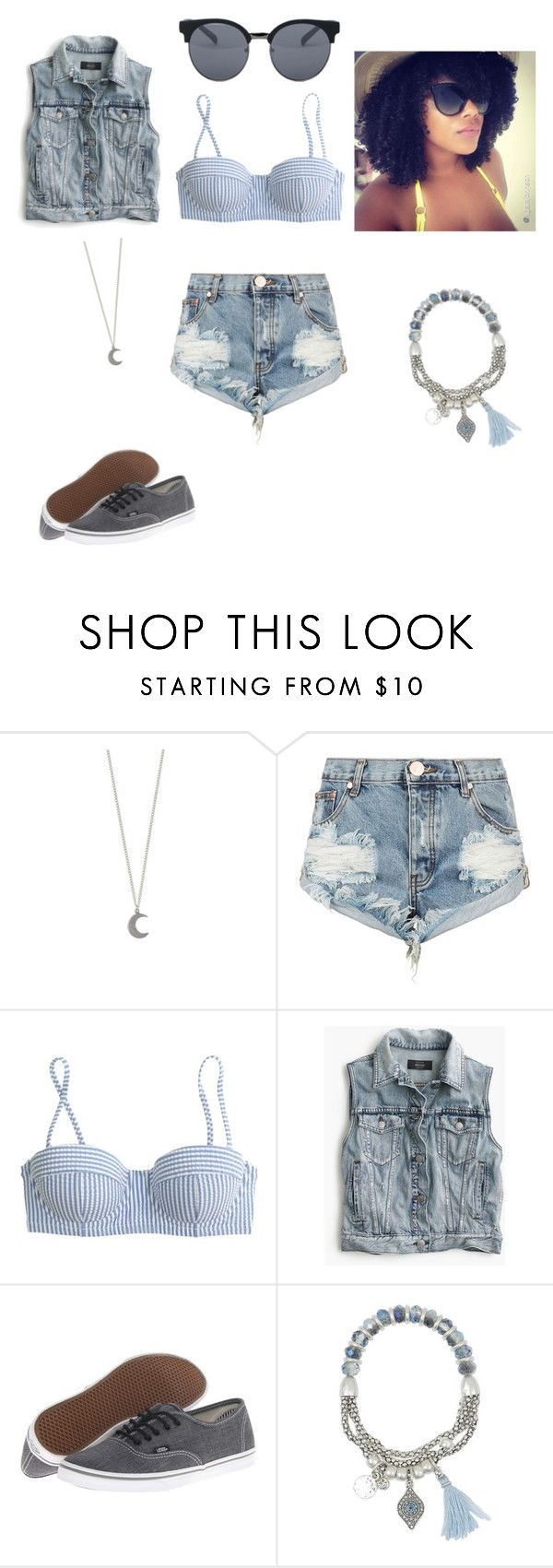 """Untitled #100"" by untoldseecrets ❤ liked on Polyvore featuring OneTeaspoon, J.Crew, Vans, Lonna & Lilly, Quay, men's fashion and menswear"